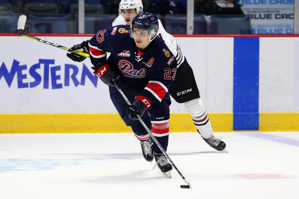 Sam Steel leads Regina Pats to win in Red Deer