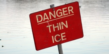 Thin ice warning issued by City of Regina