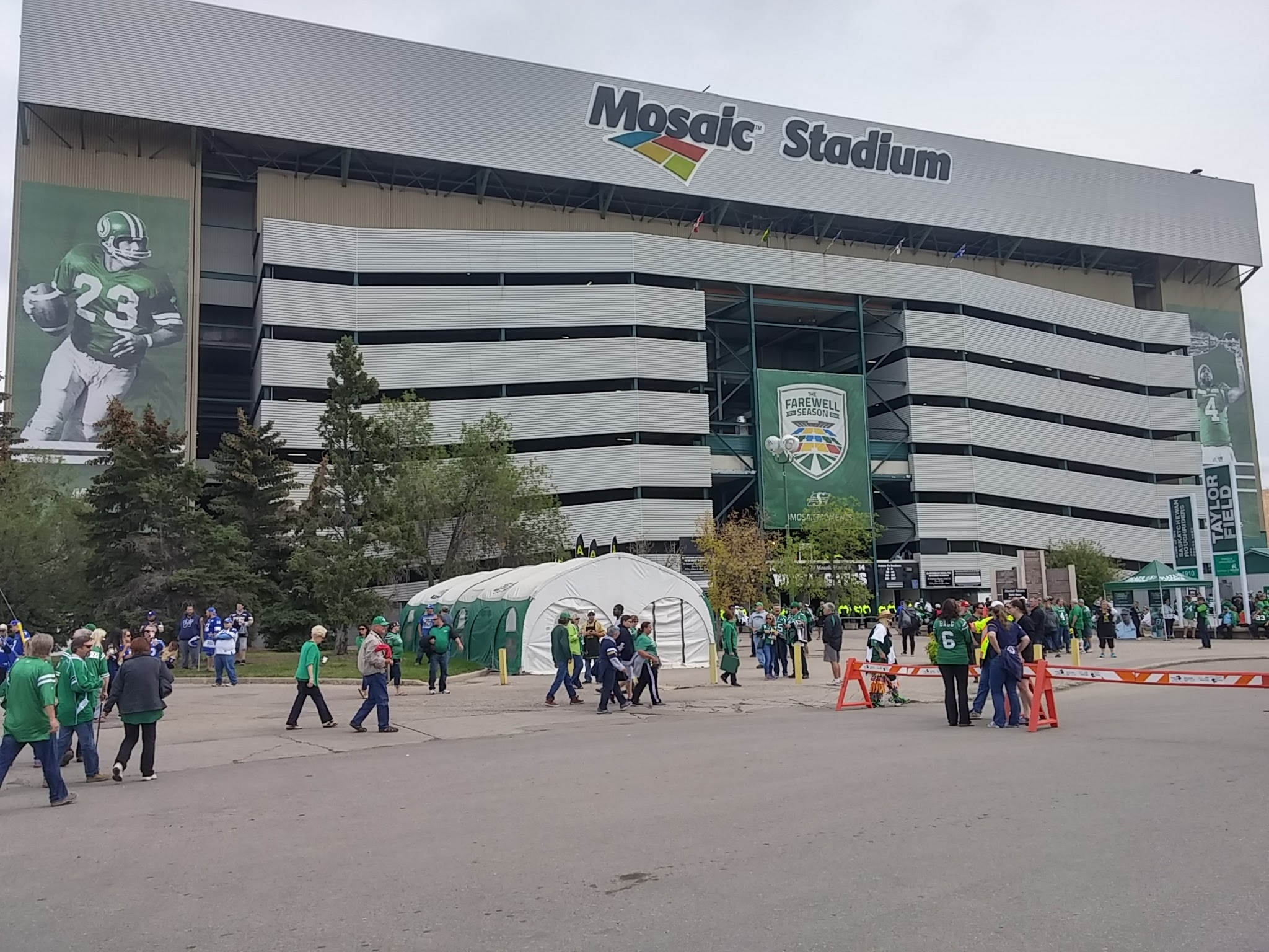 You can own a piece of old Mosaic Stadium
