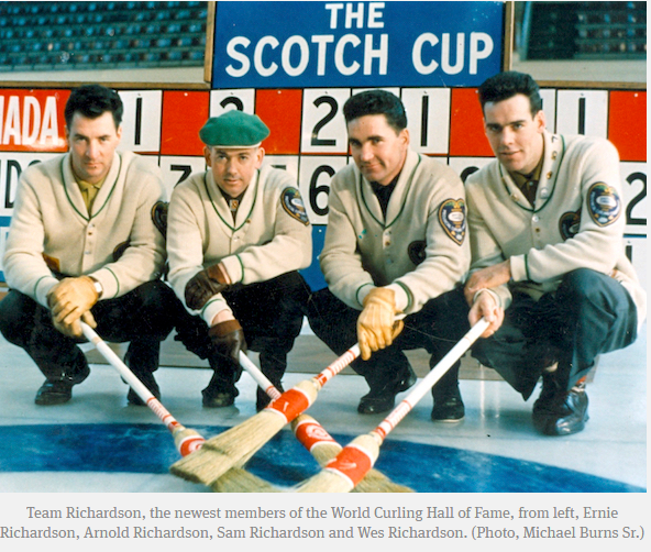 Saskatchewan's Team Richardson going into World Curling Hall of Fame