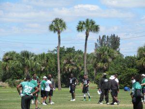 Riders Florida mini-camp is underway