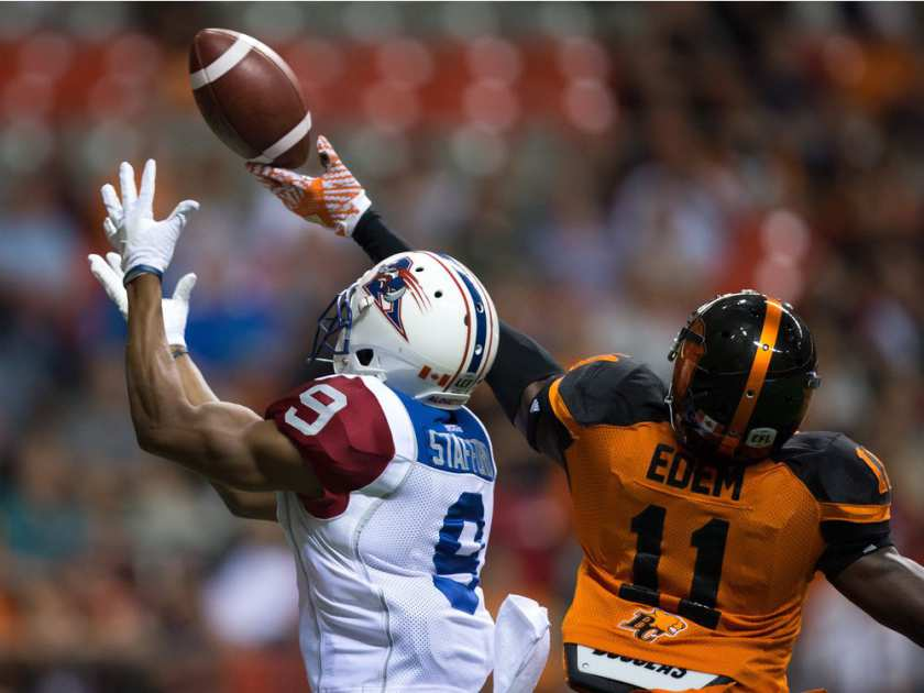 Riders acquire S Mike Edem from BC