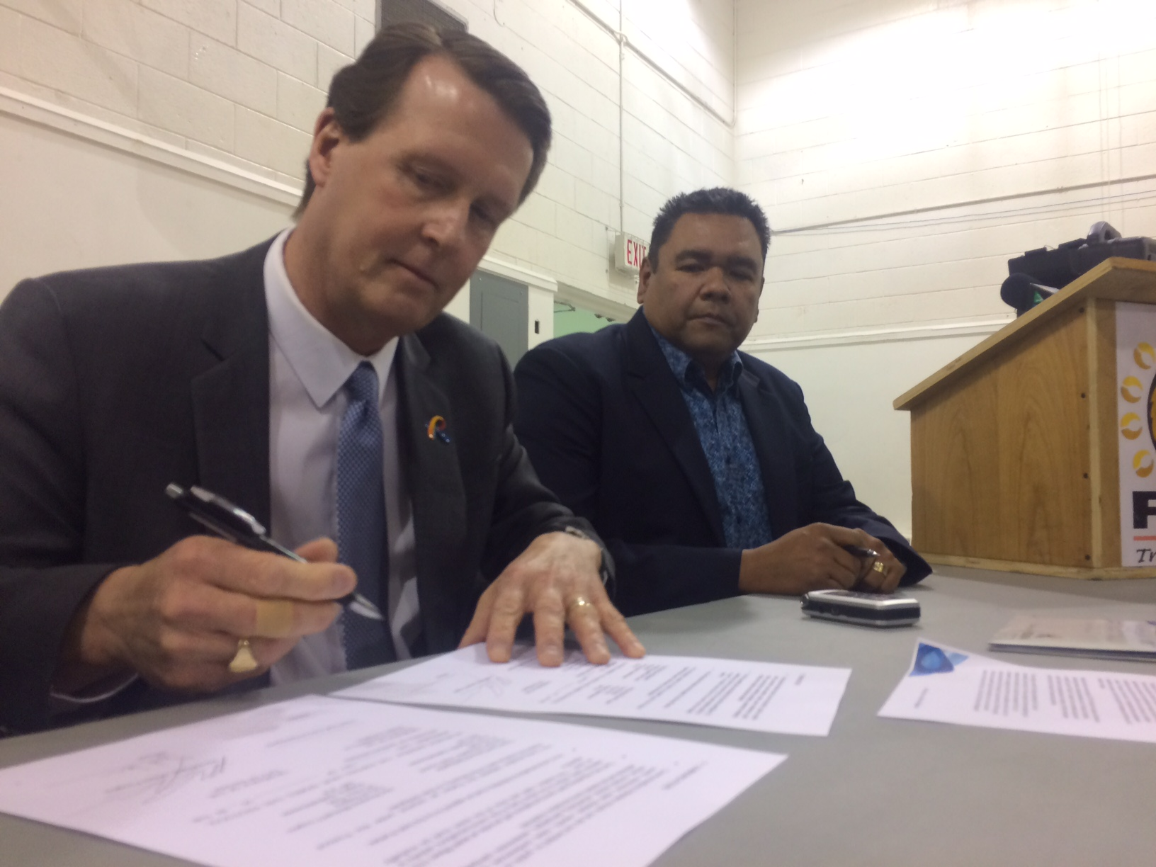 City of Regina, File Hills Qu'Appelle Tribal Council sign protocol of Recognition, Partnership and Respect