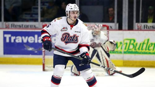 Anaheim Ducks sign Pats D Josh Mahura to entry-level contract
