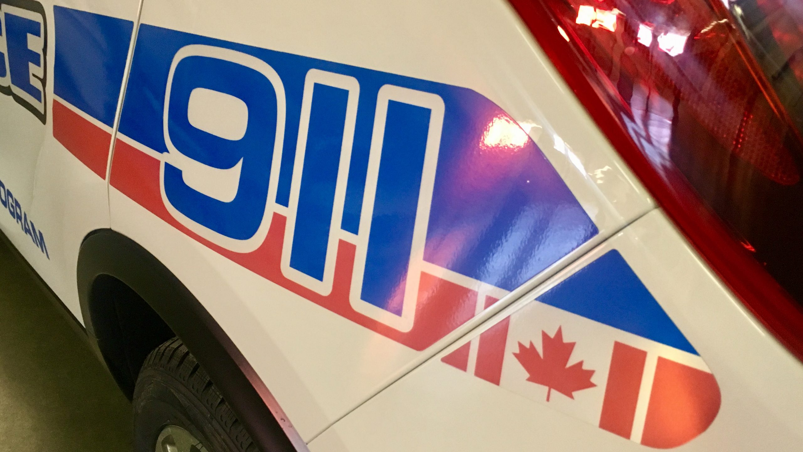 Person sustains non-life threatening injuries after car collides with semi in southeast Regina