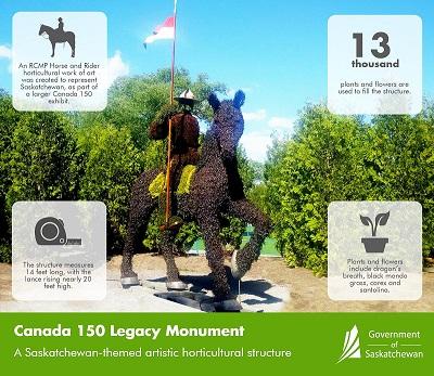 Canada 150 Legacy monument coming to Saskatchewan