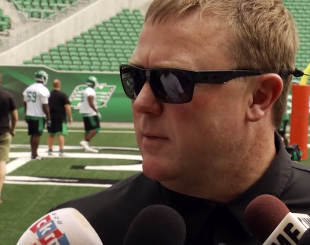 Rob Bagg in, Henoc Muamba likely out for Riders home opener
