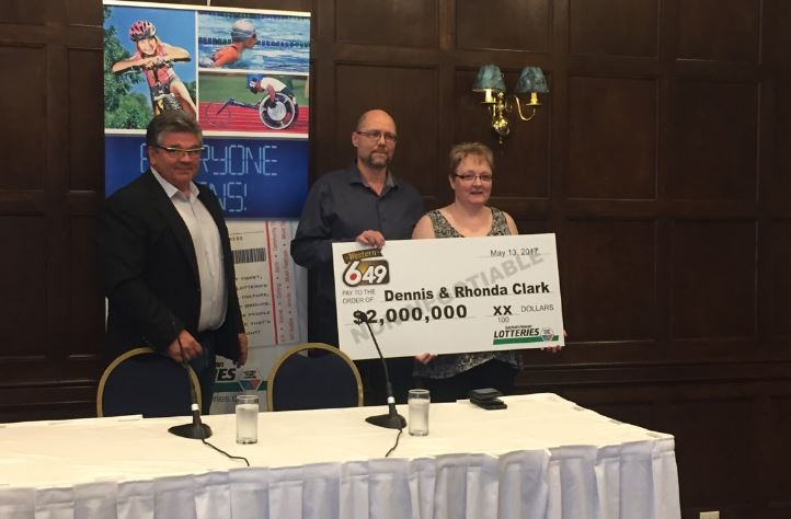 Hudson Bay, Sask. couple win Western Lotto 649 Jackpot