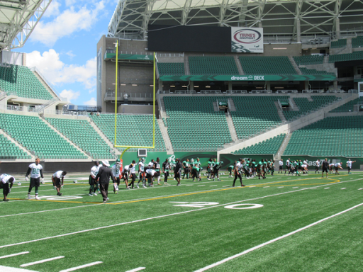Riders hold first practice of year at new home