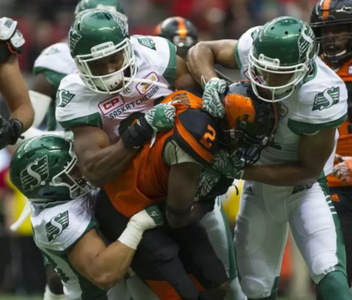Riders end pre-season with 42-10 loss in BC