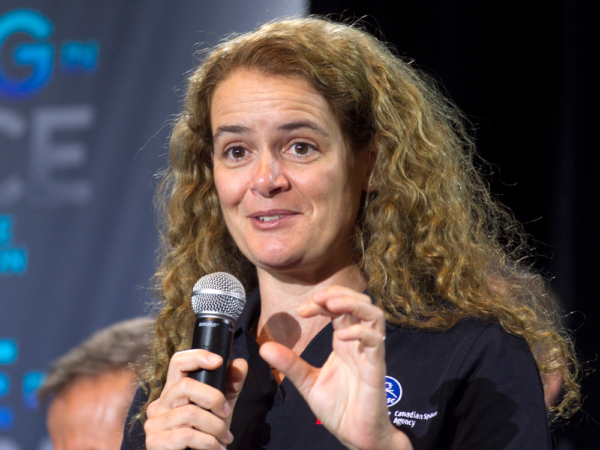 Former Canadian astronaut Julie Payette is Canada's new Governor General