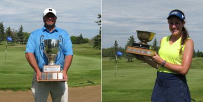 Golf Saskatchewan crowns ladies amateur and mens mid-amateur championship