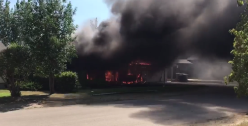 Go Fund Me Page set up for Pilot Butte couple who lost home in weekend fire