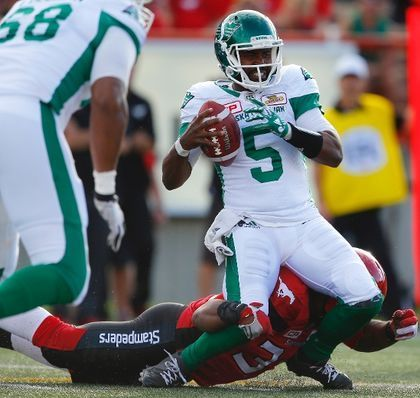 Bad start hurts Riders as they lose 27-10 in Calgary