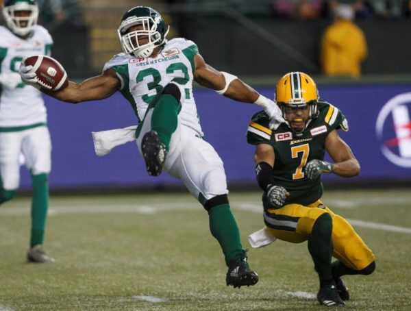 Riders improve to 4-4 with 54-31 win in Edmonton