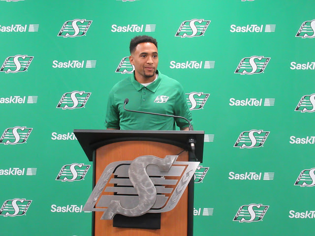 Vernon Adams Jr ready to be a Rider