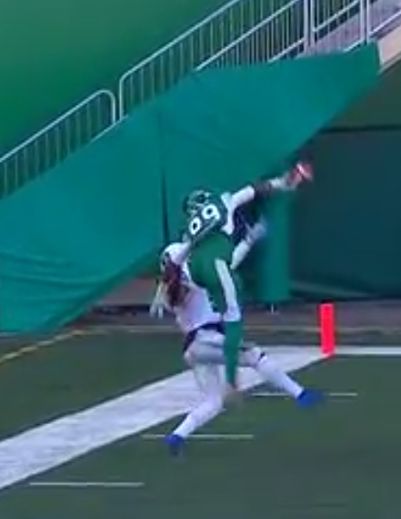 "Duron Carter reflects on ""The Catch"" as Riders get ready for Saturday's game in B.C."
