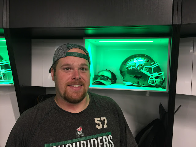 "Saskatchewan Roughriders OL Brendan Labatte says 2-4 record is ""embarrassing"""