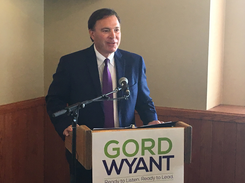 And then there were 3:  Gord Wyant announces intention to run for Saskatchewan Party leader