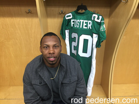 Otha Foster returning to Riderville