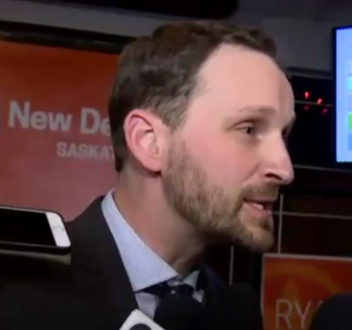 Ryan Meili makes NDP leadership bid official