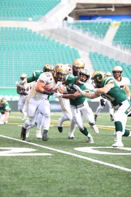 Regina Rams give one away as they lose 18-16 to Manitoba