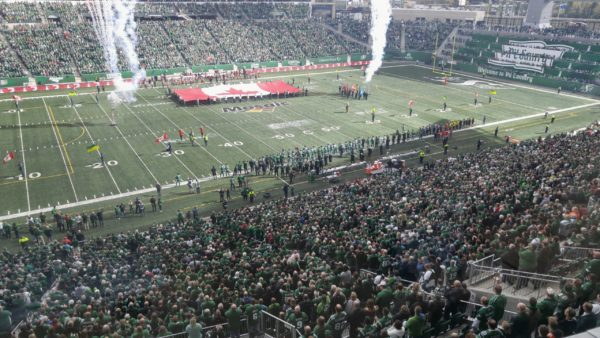 Riders release statement on actions taken during Sunday's national anthem
