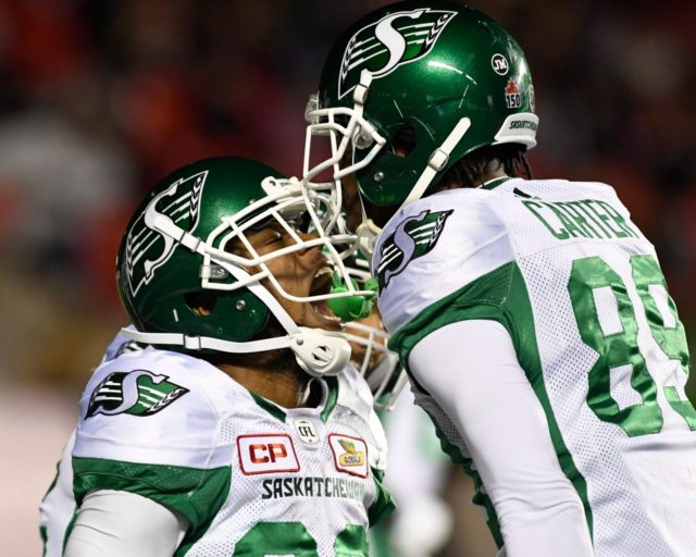 Riders comeback for one point win in Ottawa