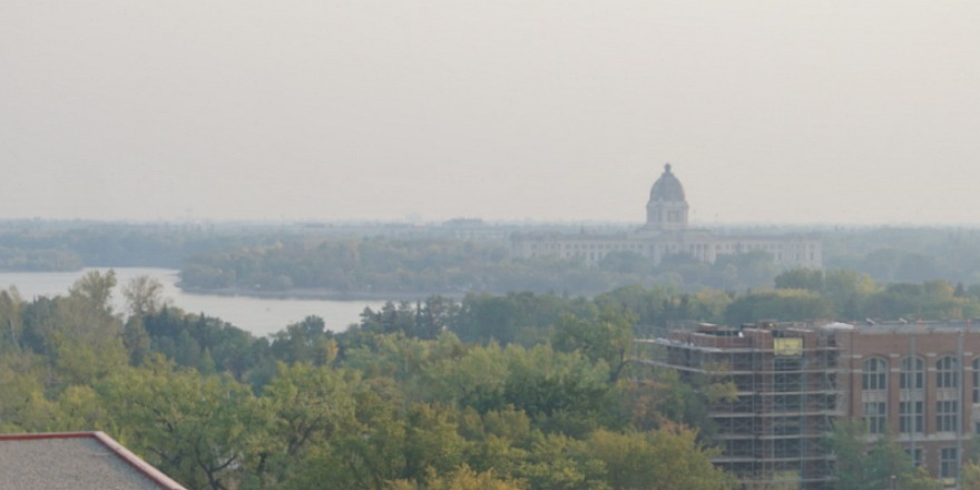 Air quality rated very poor across Saskatchewan Wednesday
