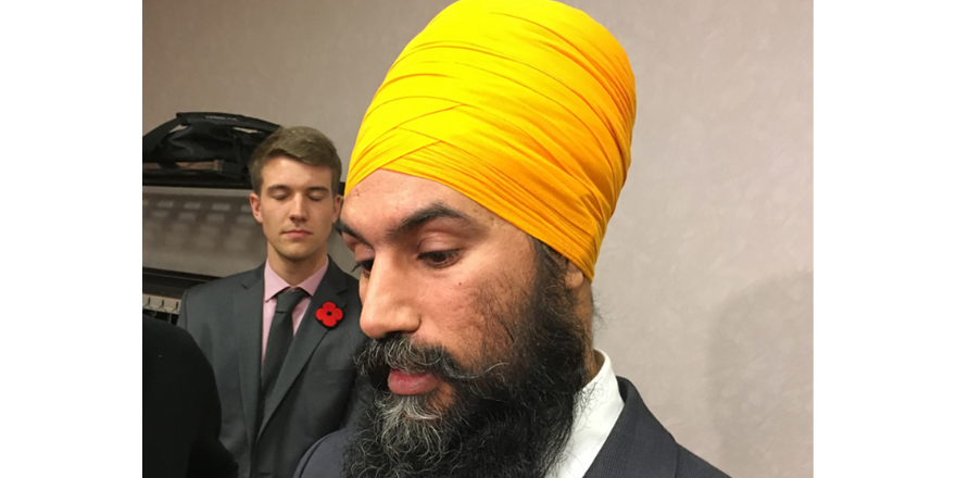 NDP leader Jagmeet Singh meeting with caucus over allegations from Regina MP Erin Weir