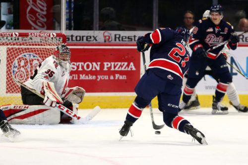 Pats look for weekend split of home-and-home with Moose Jaw Sunday