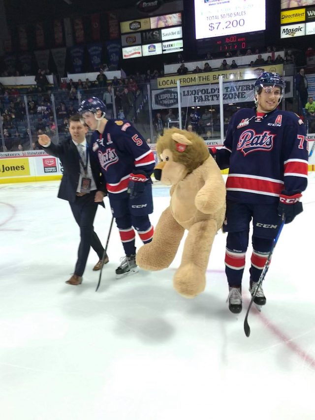 Pats lose high-scoring affair to Kelowna