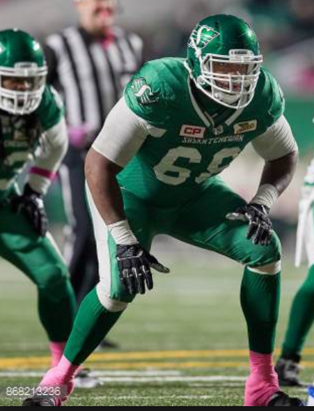 CFL suspends Riders OL Bruce Campbell for violating league's drug policy