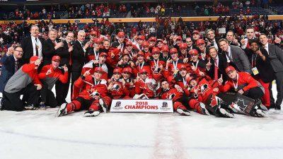 """Buffalo Wins"" -- Canada captures gold at World Juniors"