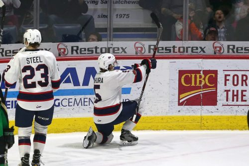 Big night from Josh Mahura leads Regina Pats to win in Moose Jaw