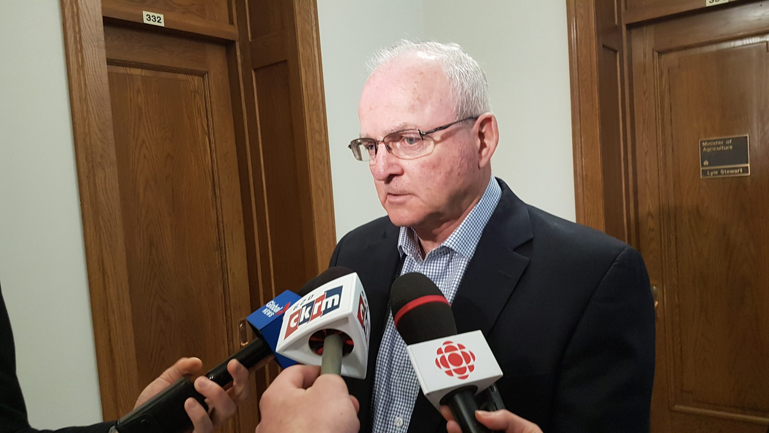 Lyle Stewart stepping down as minister of Agriculture