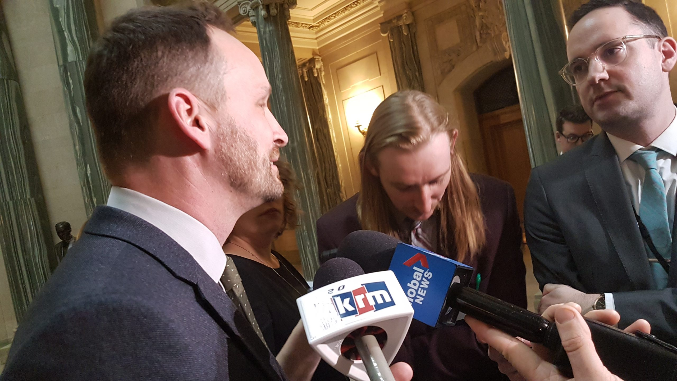 NDP leader Ryan Meili against provincial government's carbon tax challenge