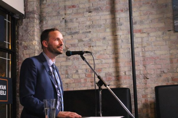 NDP leader Ryan Meili touring province ahead of fall session