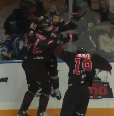 WHL Playoff Tracker; Brett Howden delivers OT winner for Moose Jaw