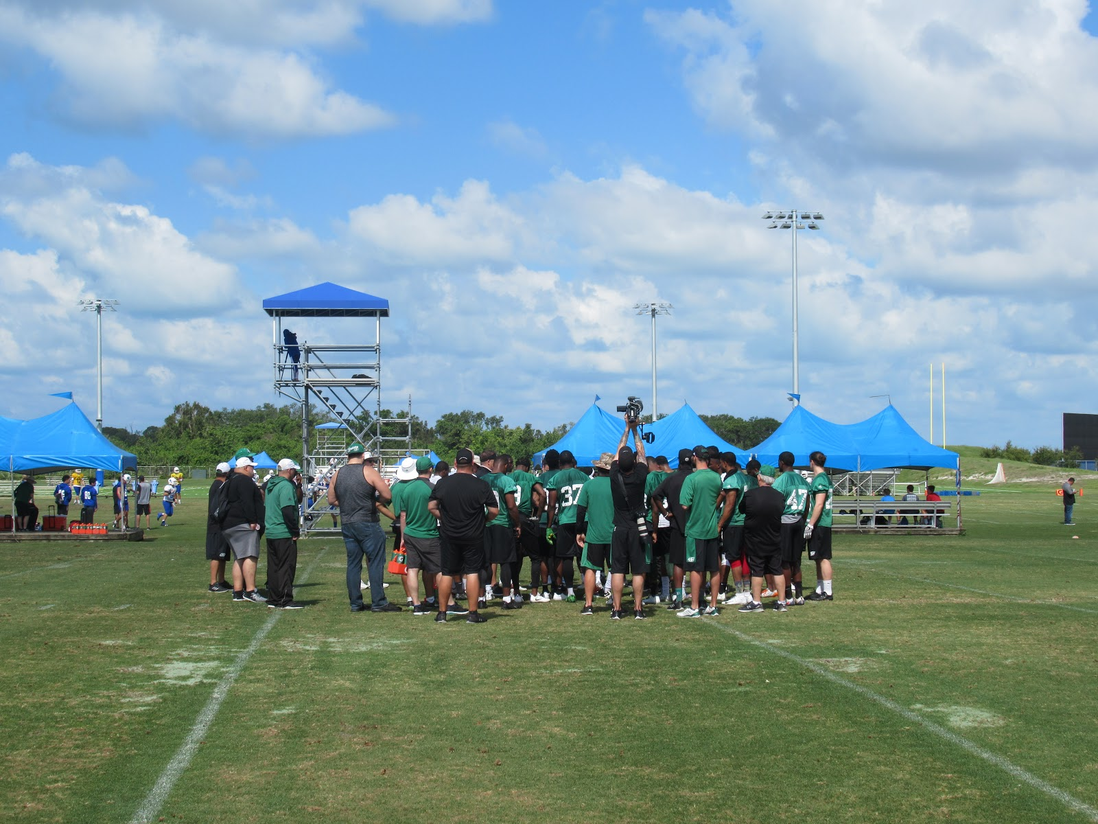 10 Things From Roughriders Florida Minicamp