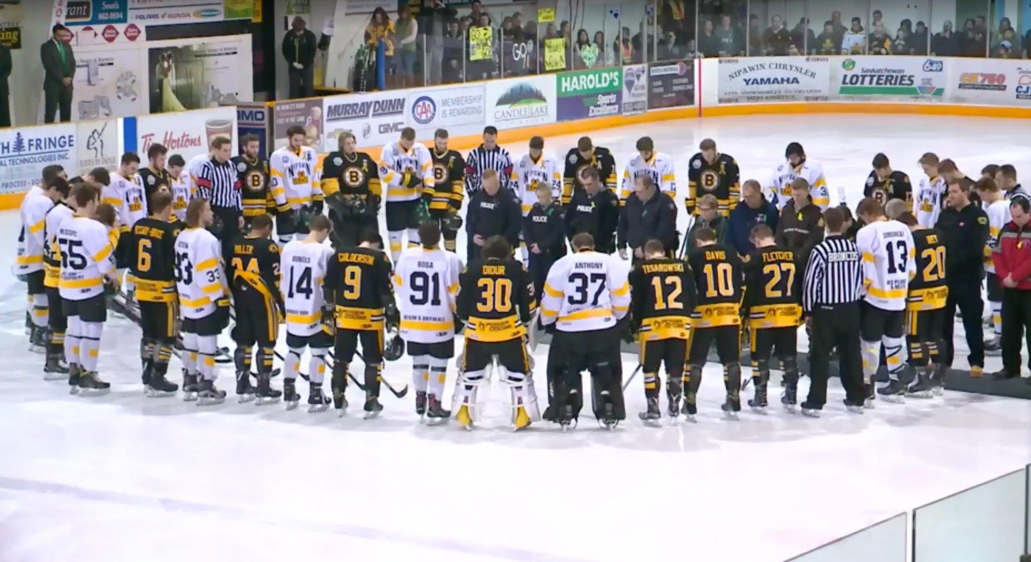 Emotions run high as SJHL final begins in Nipawin
