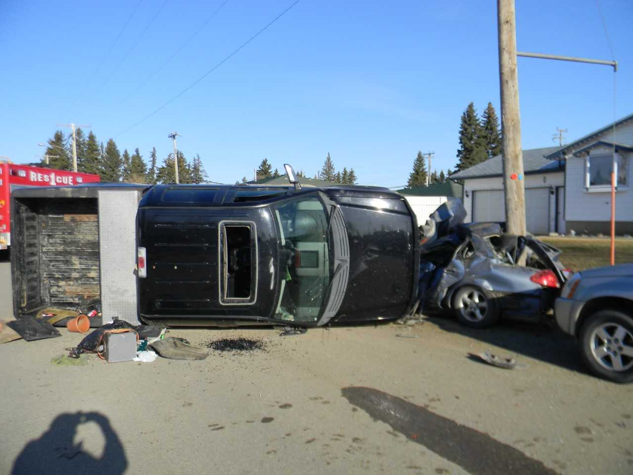 Unity RCMP investigating collision in Macklin