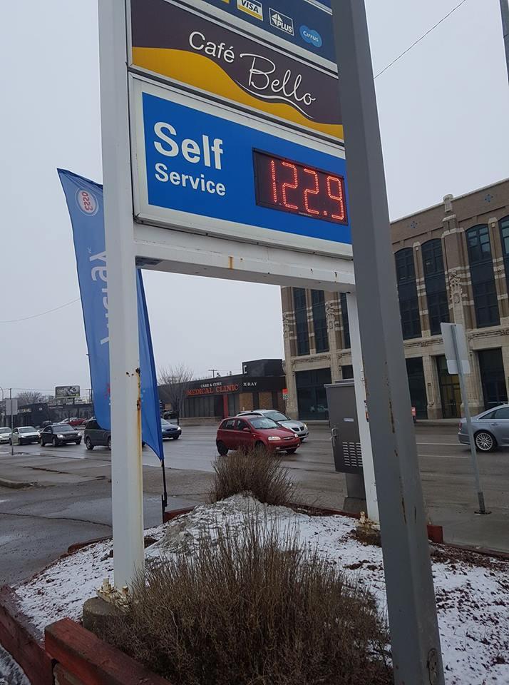 Gas prices remaining high across Regina