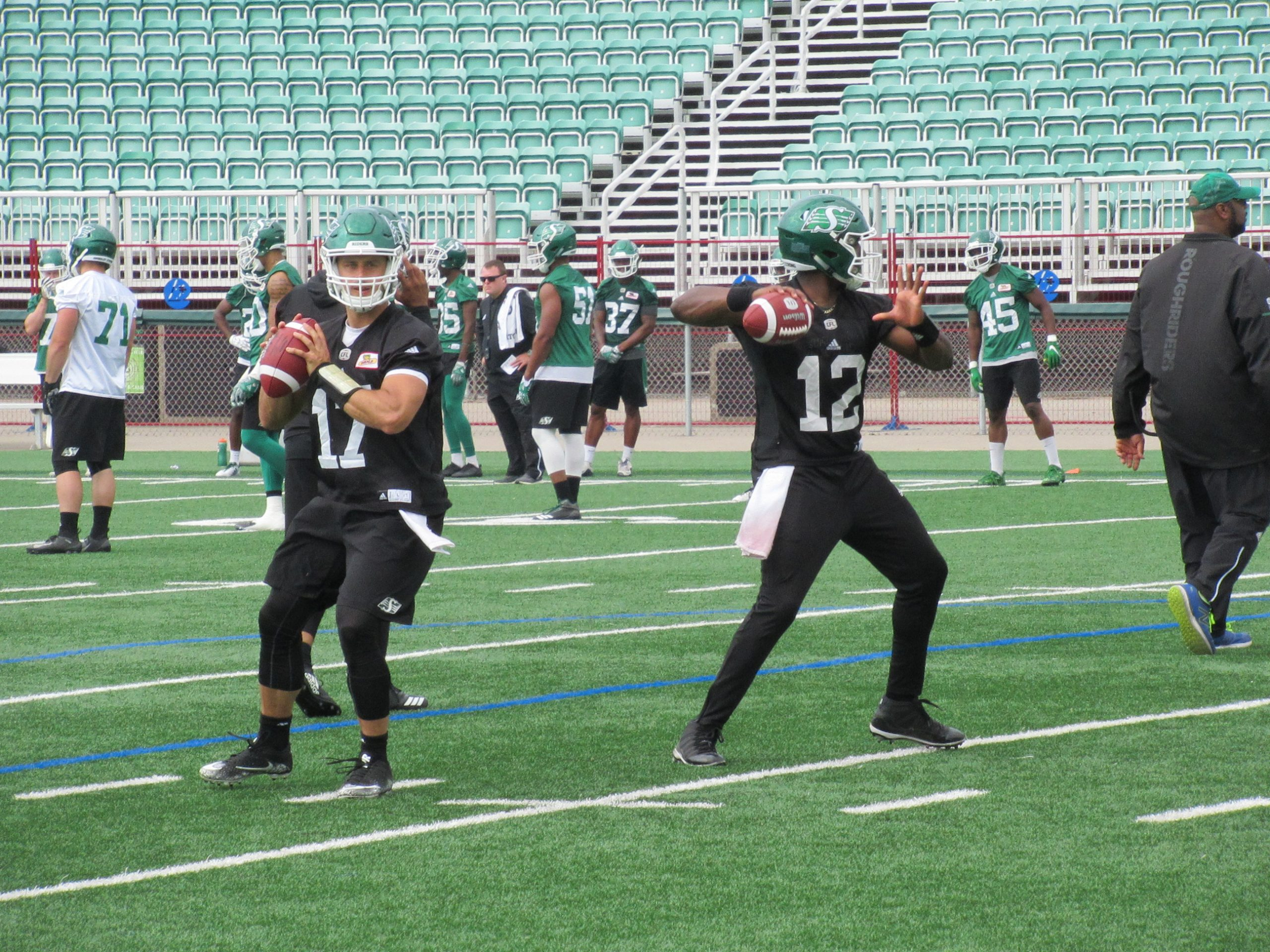 Rider Report On Friday's Day 6 Of Training Camp
