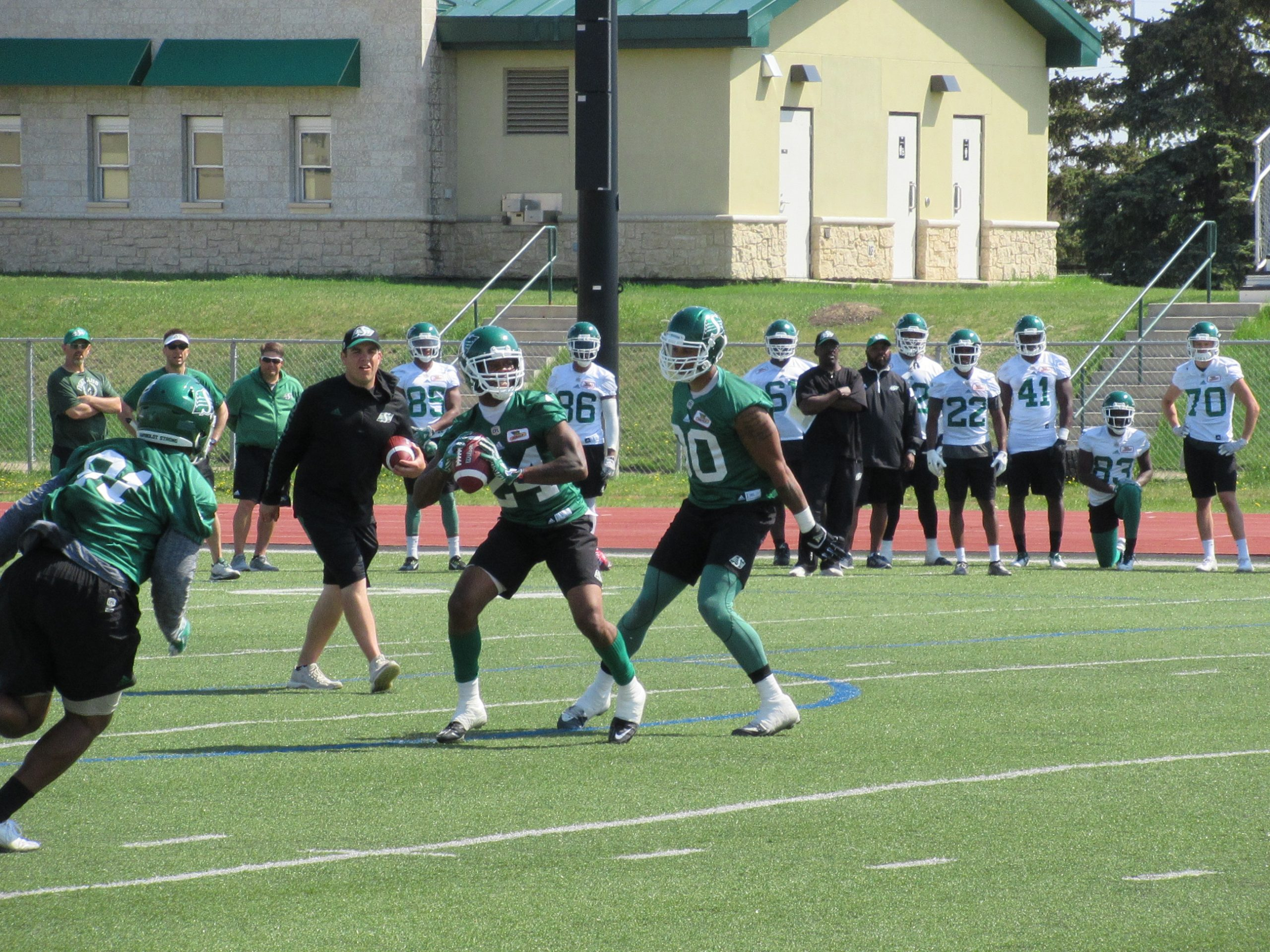 Riders Open Week 2 Of Training Camp