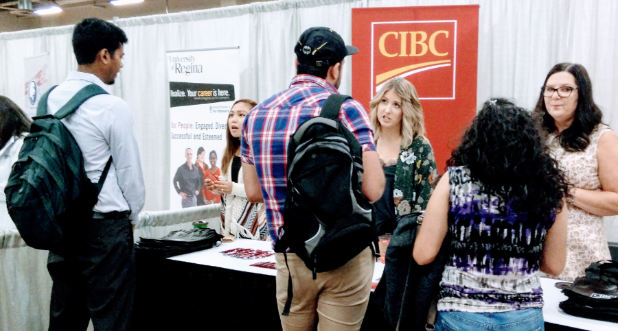 Regina Open Door Society aims to find employment for newcomers at job fair