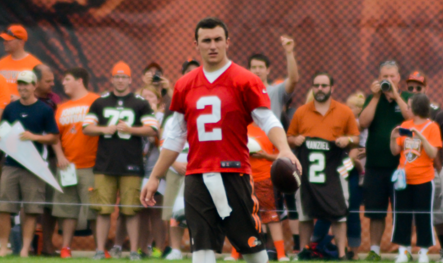 Johnny Manziel suiting up for Tiger-Cats in 2018