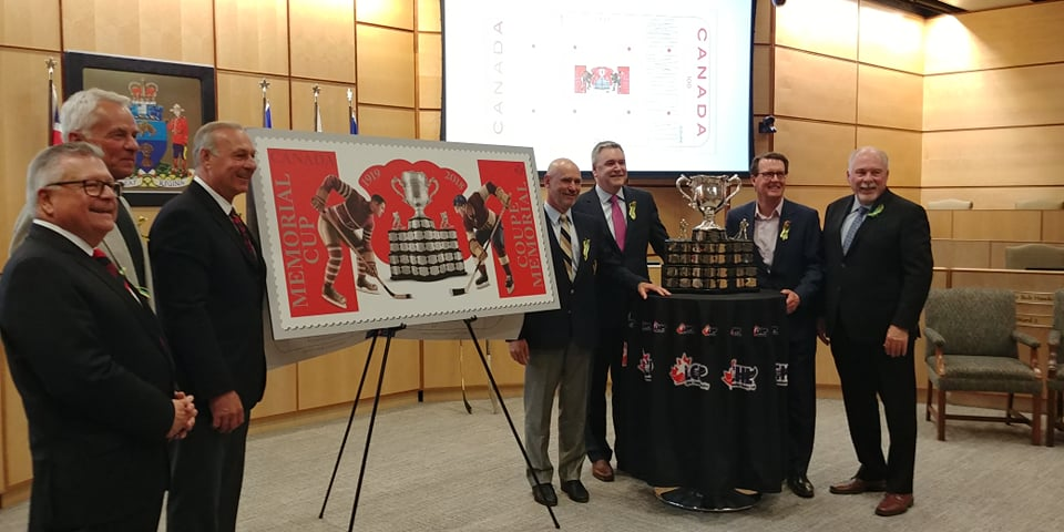 Canada Post unveils Memorial Cup stamp