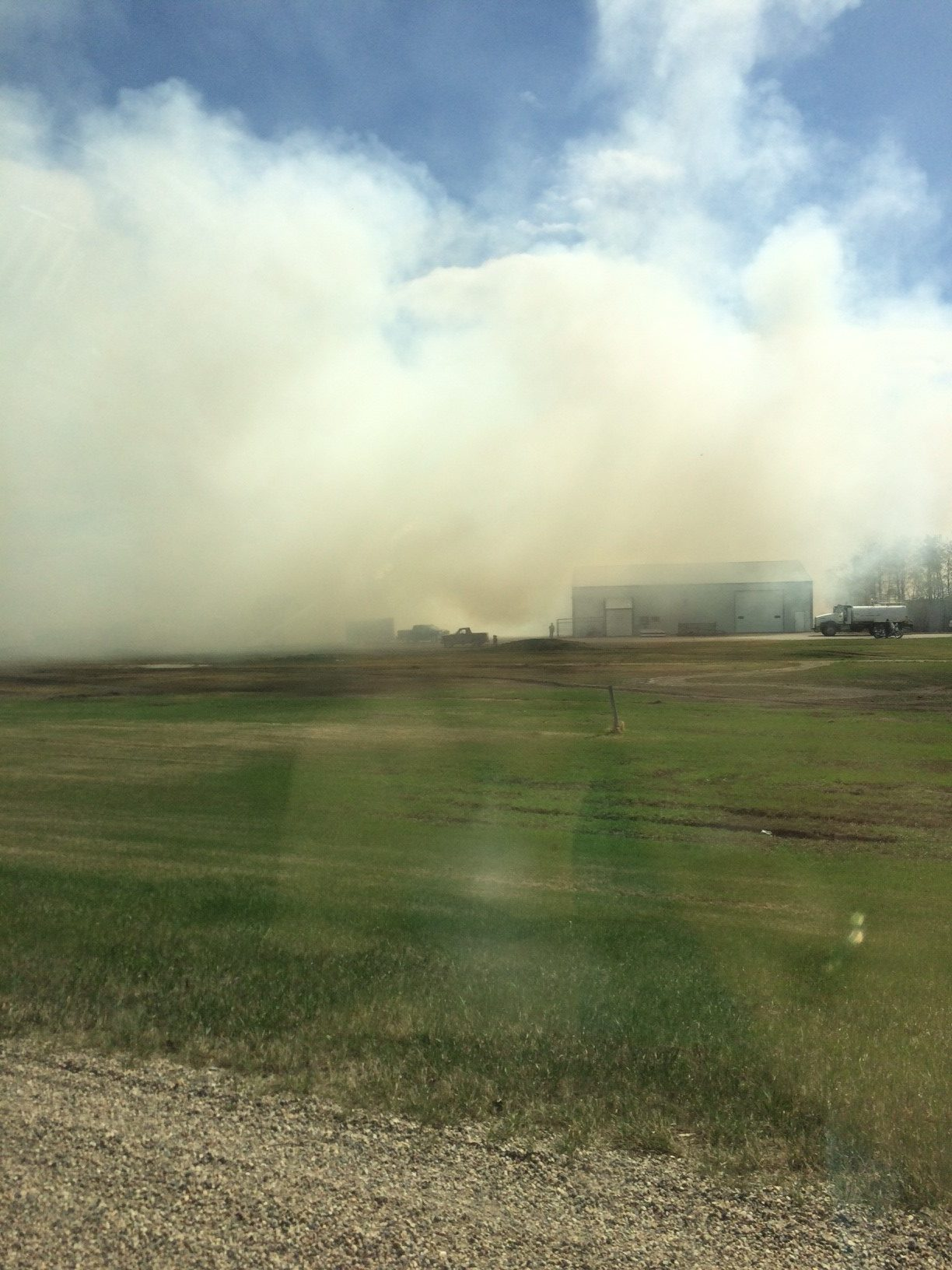Agriculture minister David Marit expresses concern about wildfires
