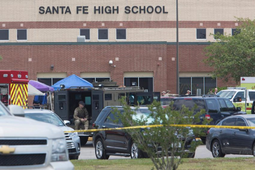 High school shooting in Texas leaves at least 10 dead